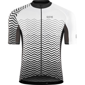 GORE WEAR C3 Jersey Men white/black/black